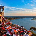 Sunset Overlook On Lake Travis by Kathy Yeung
