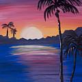 Sunset Palms by Photos By Cassandra
