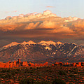 Sunset Panorama In Arches National Park by Dan Norris