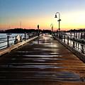 Sunset Pier by Extrospection Art