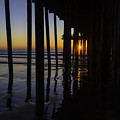 Sunset Pismo Beach by Garry Gay