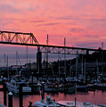 Sunset Port by Denise Bruchman