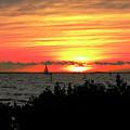 Sunset Punta Gorda Fl by Francesco Roncone