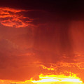 Sunset Rain by Brian  Commerford