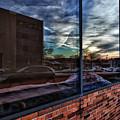Sunset Reflected by Robert Ullmann