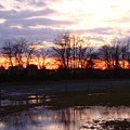 Sunset Reflections by Donna Holmberg