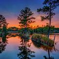 Sunset Reflections by Robert Mullen