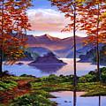 Sunset Reverie by David Lloyd Glover