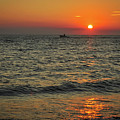 Sunset Ride Cape May Point Nj by Terry DeLuco