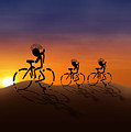 Sunset Riders by Gravityx9 Designs