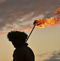 Sunset Ritual by Karen Rose Warner