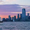 Sunset Sail - Hudson River by Frank Mari