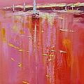 Sunset Sail by Laura Lee Zanghetti