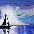Sunset Sail by Phyllis Kaltenbach