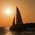Sunset Sailing by Lucio Cicuto