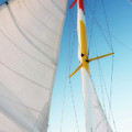 Sunset Sails 1 by Alan Hausenflock