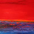 Sunset Sea 2 by Preethi Mathialagan