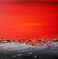 Sunset Sea 4 by Preethi Mathialagan