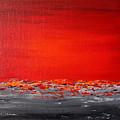 Sunset Sea 5 by Preethi Mathialagan
