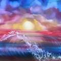 Sunset Sea by Ellen Jagger