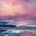 Sunset Sea by Sally Seago