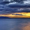 Sunset Seascape Alaska by John Greim