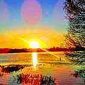 Sunset  by Shana Rusk