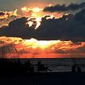 Sunset Silhouettes by Robert Wilder Jr
