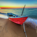 Sunset Skiff by Pete Federico