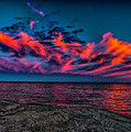 Sunset Sky At East Point by Nick Zelinsky