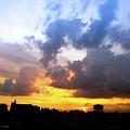 Sunset Sky by Atullya N Srivastava