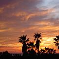 Sunset Sky Over Baja by Leonard Sharp