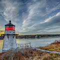 Sunset, Squirrel Point Lighthouse by Gary Shepard