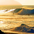 Sunset Surfers by Kevin Smith