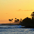 Sunset Time In The Tropics by Bonnie Follett