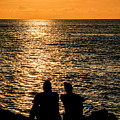 Sunset Together In Key West by Bob Slitzan