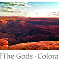 Sunset Tour Valley Of The Gods Utah Pan 09 Text by Thomas Woolworth