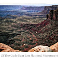Sunset Tour Valley Of The Gods Utah Text 04 by Thomas Woolworth