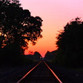 Sunset Track by Gina Welch