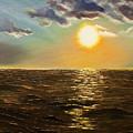 Sunset by Valentyna Pylypenko