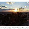 Sunset Valley Of The Gods Utah 01 Text by Thomas Woolworth