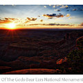 Sunset Valley Of The Gods Utah 11 Text by Thomas Woolworth