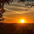 Sunset Vienna West Virginia by Edie Ann Mendenhall