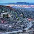 Sunset View From Jerome Arizona by Priscilla Burgers