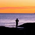 Sunset Watcher by Greg Fortier