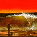 Sunset Wave by Marene  Originals