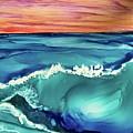 Sunset Waves by Leti C Stiles