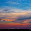 Sunset Windsor Illinois by Theresa Campbell