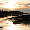 Sunset Winter Marsh 6336 by Captain Debbie Ritter