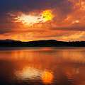 Sunset With A Golden Nugget by James BO Insogna